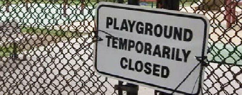 Playground closed