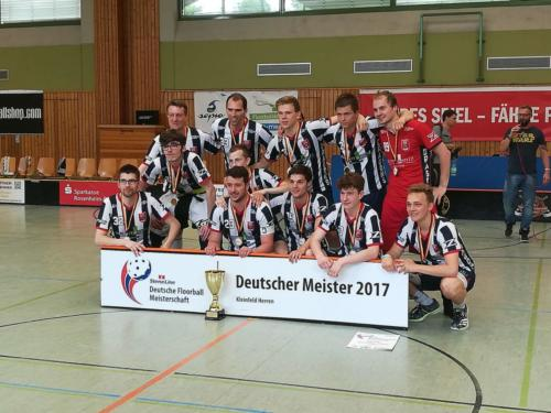 Deutscher Meister 2017 Herren KF