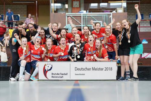 Deutscher Meister 2018 Damen KF